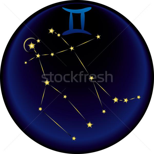 Zodiac Gemini Sign  Stock photo © bonathos