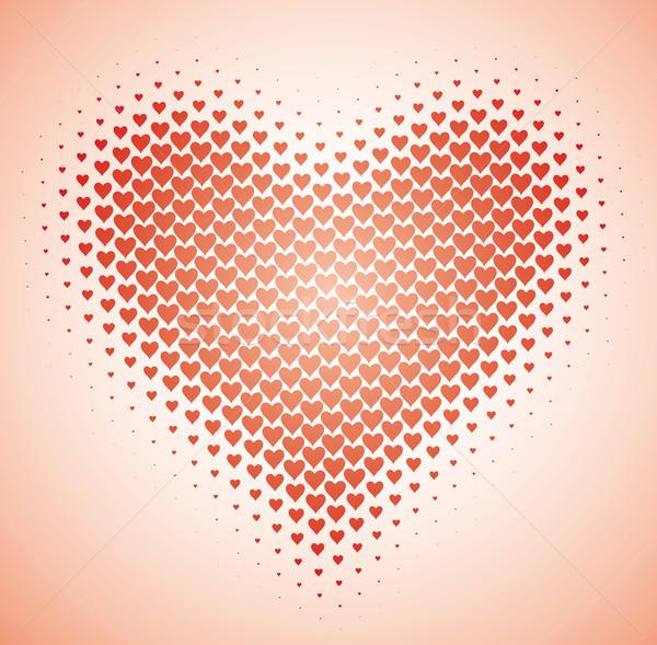 сердце Dance любви дизайна Сток-фото © bonathos