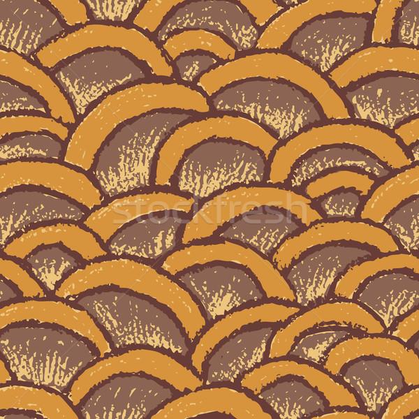 Natural pastel made seamless pattern  Stock photo © bonathos
