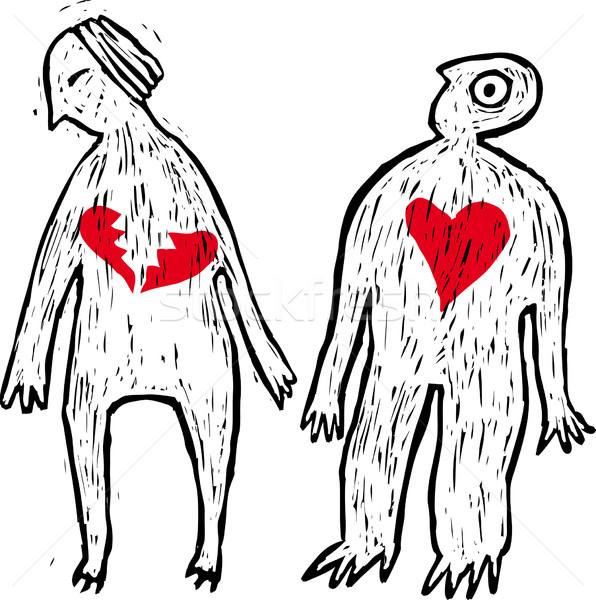 ストックフォト: もっと · 愛 · 物語 · 離婚