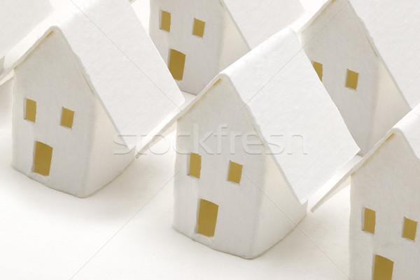 住宅 紙 建物 ホーム アーキテクチャ ストックフォト © bonathos