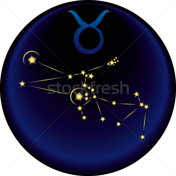 Zodiac Taurus Sign	  Stock photo © bonathos