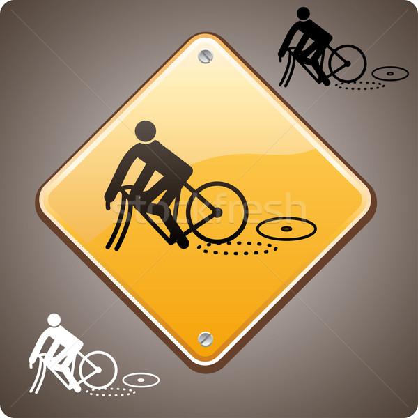 Sport incident, bike  Stock photo © bonathos