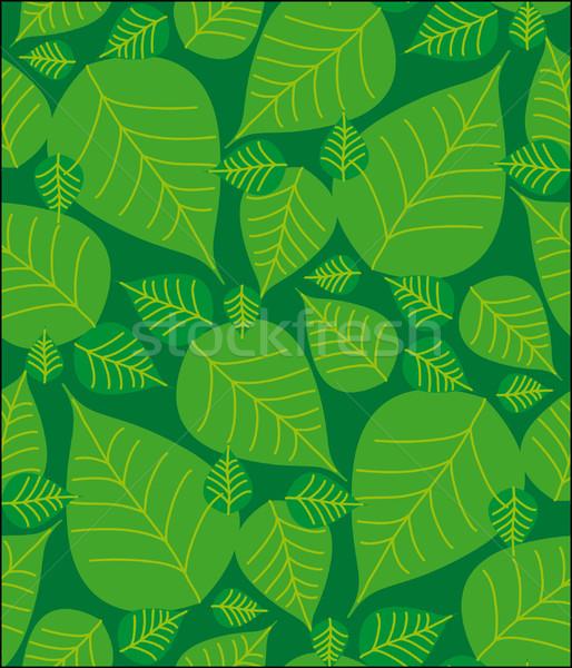 パターン 緑 芸術 ストックフォト © bonathos