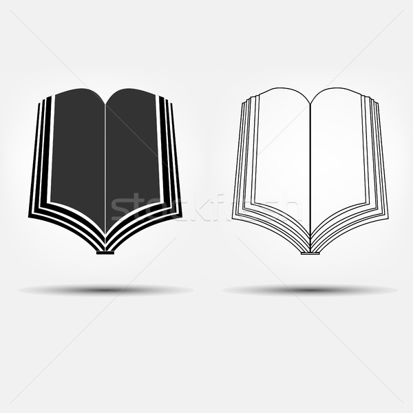 open book icons Stock photo © BoogieMan