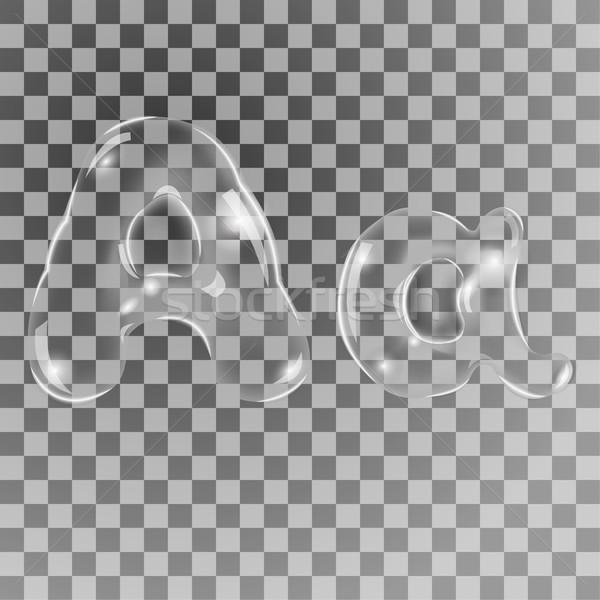 Bubbles letters A Stock photo © BoogieMan