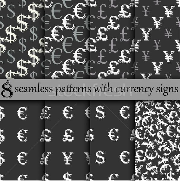 seamless pattern set Stock photo © BoogieMan