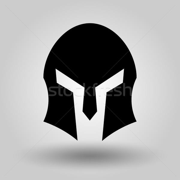 士兵头盔矢量图