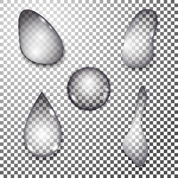 water drops set Stock photo © BoogieMan