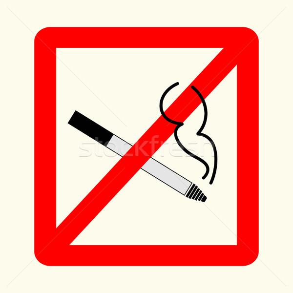 знак красный прямоугольник можете используемый Сток-фото © BoogieMan