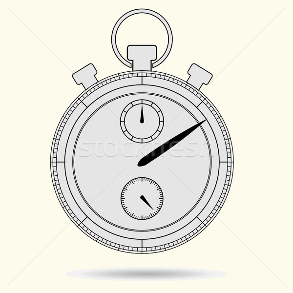 Stopwatch model gray Stock photo © BoogieMan