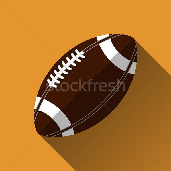American football icon Stock photo © BoogieMan