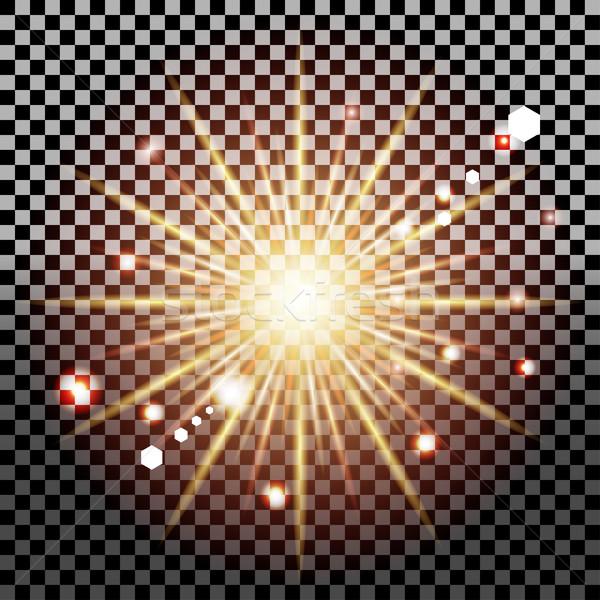 transparent light effect Stock photo © BoogieMan