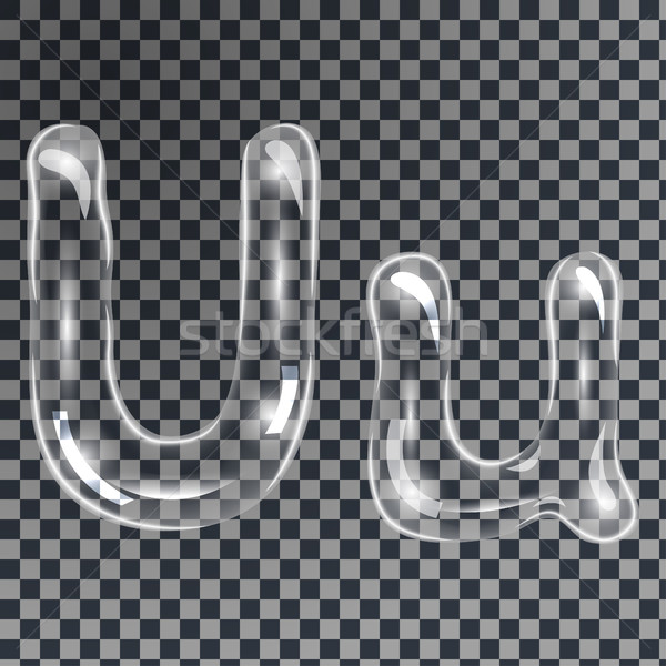 Bubbles letters U Stock photo © BoogieMan