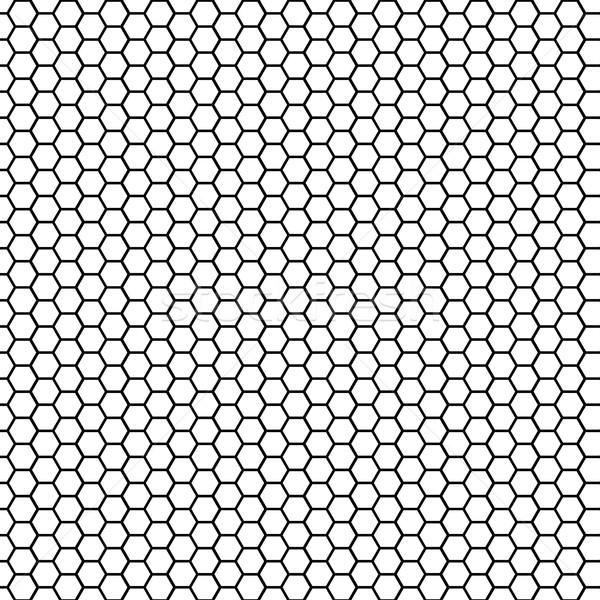 Seamless pattern honeycomb Stock photo © BoogieMan