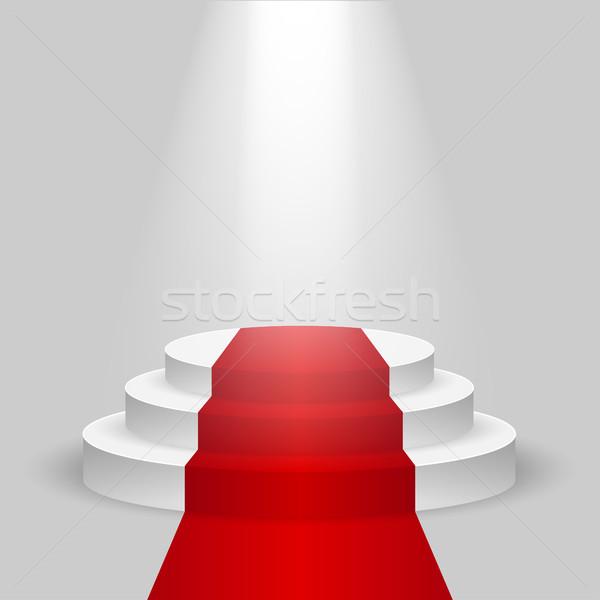 пусто этап подиум реалистичный конкурс сцена Сток-фото © BoogieMan