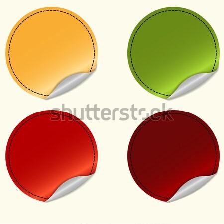 набор различный цветами вектора служба Сток-фото © BoogieMan
