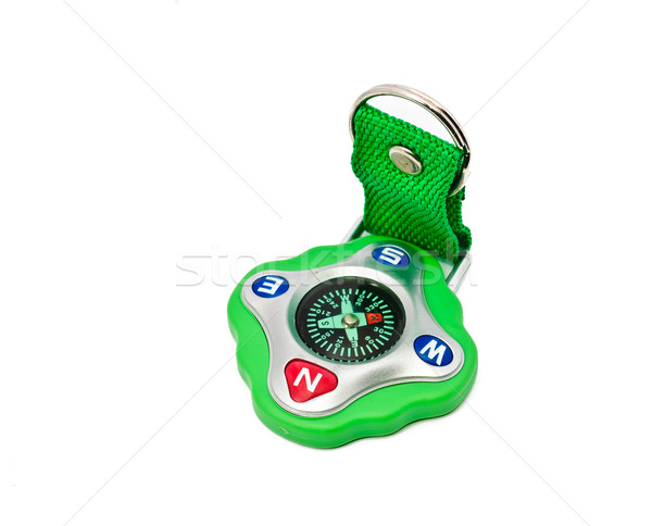Green compass with the strap Stock photo © Borissos