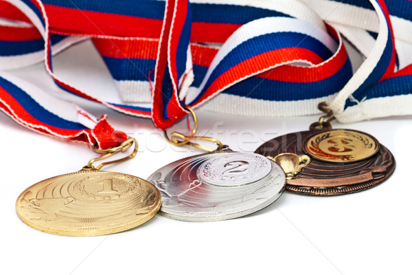 Sports Medal of the Russian Federation Stock photo © Borissos