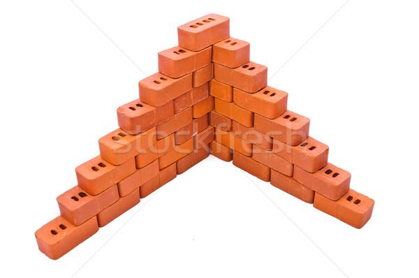 Small bricks for construction Stock photo © Borissos