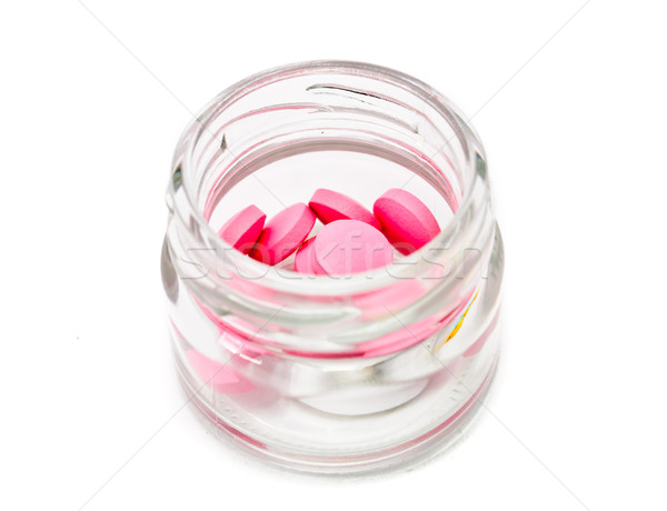 Isolado branco medicina drogas química Foto stock © Borissos
