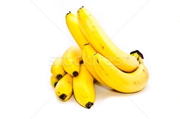 Stok fotoğraf: Muz · meyve · beyaz · içmek · meyve