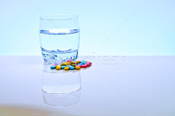 Aislado blanco medicina ciencia rojo Foto stock © Borissos