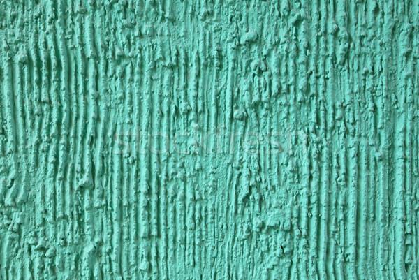 çimento doku dizayn yeşil duvar boya Stok fotoğraf © borna_mir