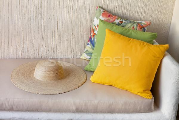 Dinlenmek tatil hazır geri tadını çıkarmak yaz tatili Stok fotoğraf © borna_mir