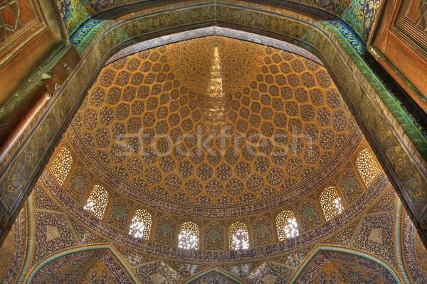 Inside mosque Stock photo © borna_mir