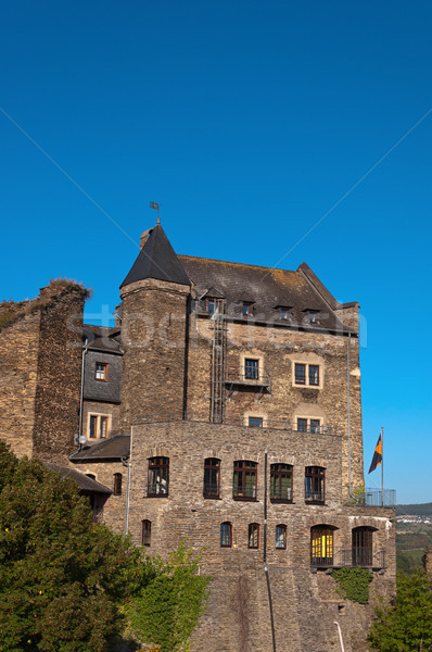 Stock photo: Old German castle rebuilt in the hotel.