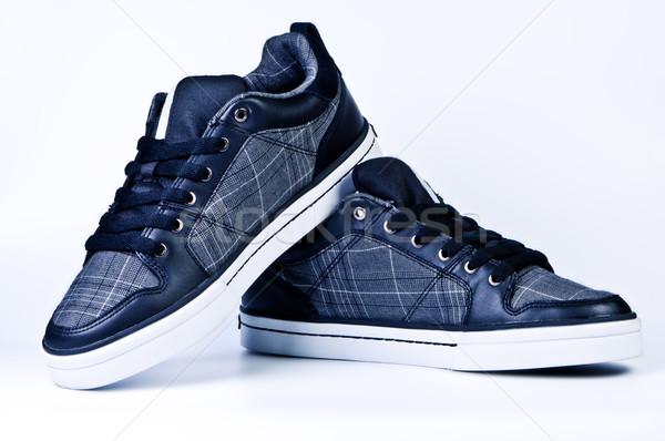 Stijlvol mode sport schoenen werken Stockfoto © borysshevchuk