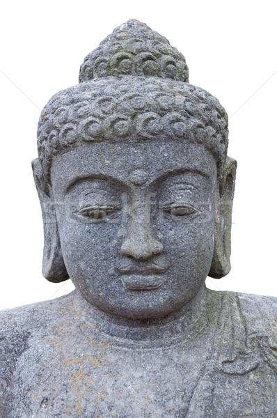 Stone head of Buddha. Stock photo © borysshevchuk