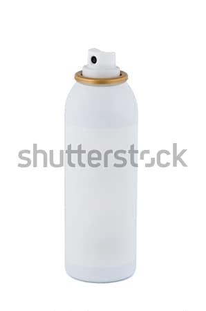 Garrafa spray branco isolado médico limpar Foto stock © borysshevchuk