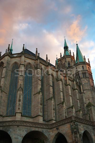 Dôme cathédrale Allemagne bâtiment église château Photo stock © borysshevchuk