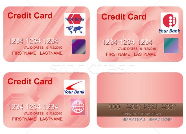 Design credit card. Stock photo © borysshevchuk