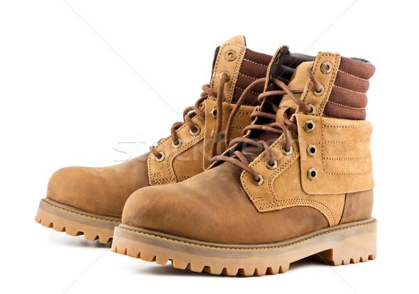 Men's shoes on a white background Stock photo © borysshevchuk
