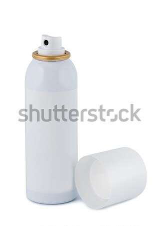 Spray with lid on white background. Stock photo © borysshevchuk