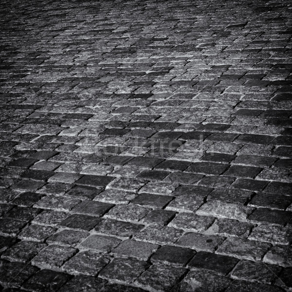 Cobbles abstract background. Stock photo © borysshevchuk