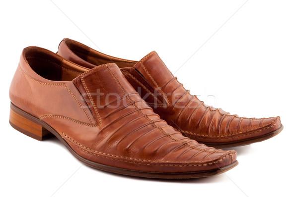 Stock fotó: Cipők · izolált · fehér · divat · háttér · ruházat