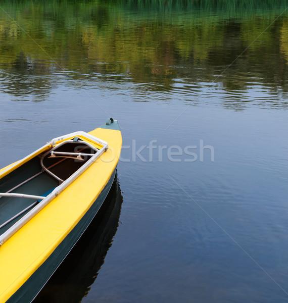 Stockfoto: Kajak · rivier · toeristische · sport · boot · meer