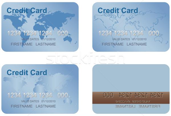 Design of a credit card. Stock photo © borysshevchuk
