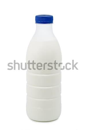 Bottle of milk on white background. Stock photo © borysshevchuk