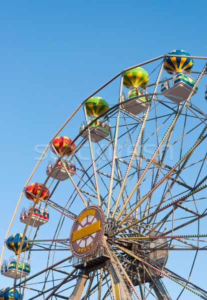Ferris wheel background sky. Stock photo © borysshevchuk