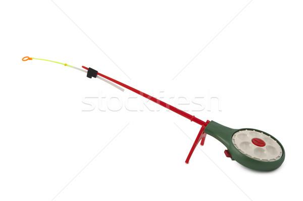Ice fishing rods Stock photo © borysshevchuk
