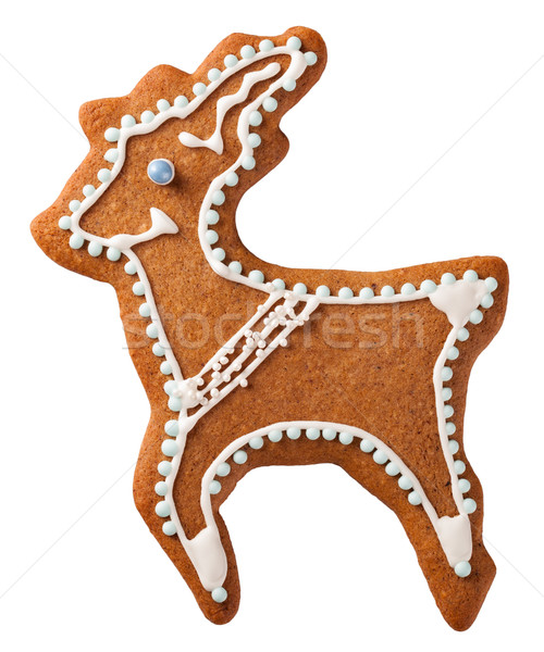 Gingebread Reindeer Stock photo © Bozena_Fulawka