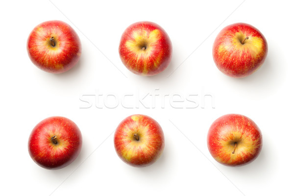 Appels geïsoleerd witte kampioen appel top Stockfoto © Bozena_Fulawka