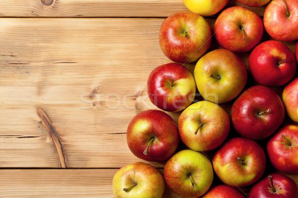 Appels houten tafel top natuur exemplaar ruimte Stockfoto © Bozena_Fulawka