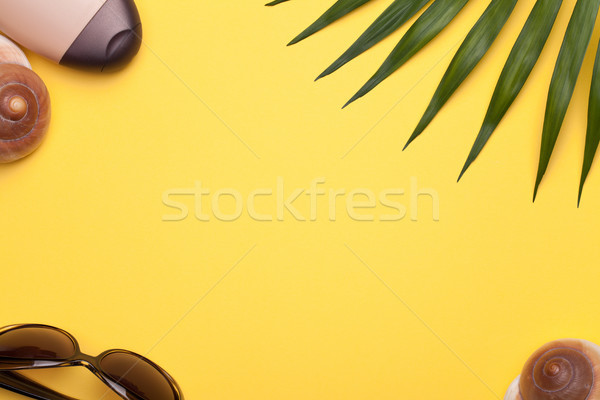 Summer Holiday Vacation Background Stock photo © Bozena_Fulawka