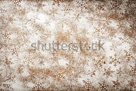 Snowflakes Background Stock photo © Bozena_Fulawka